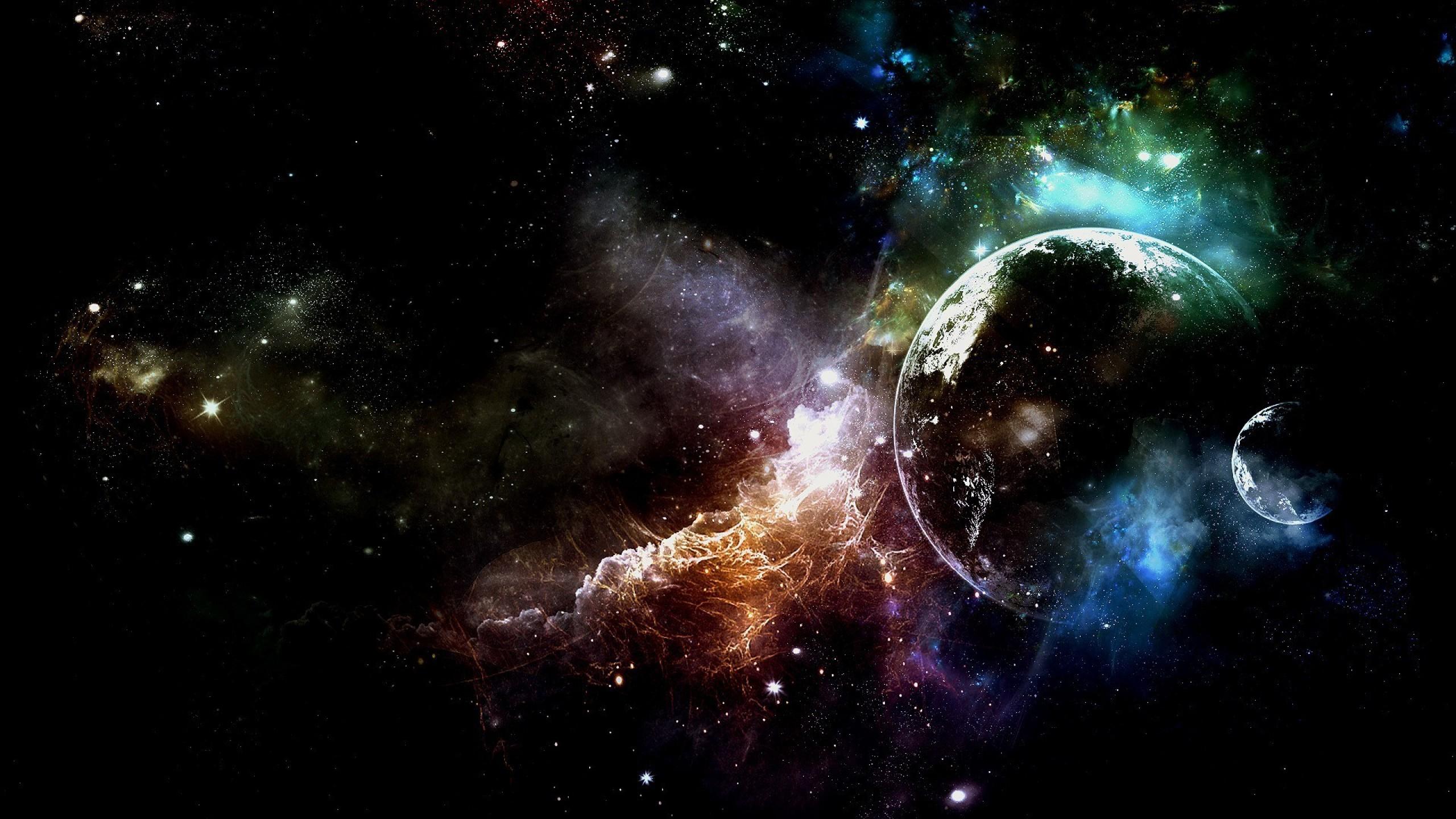 Обои Свечение за планетами картинки на рабочий стол на тему Космос - скачать  № 1772789 загрузить