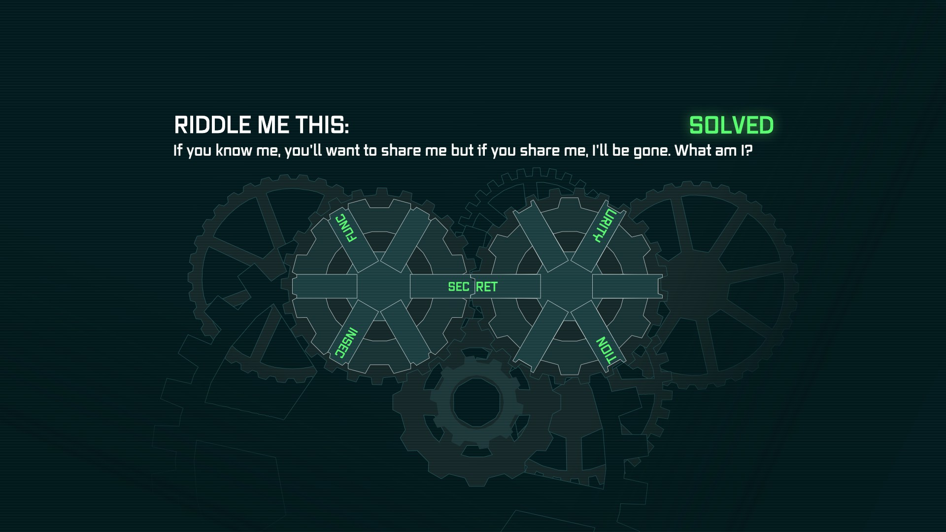 you can activate riddler s machine and solve a riddle 1920x1080