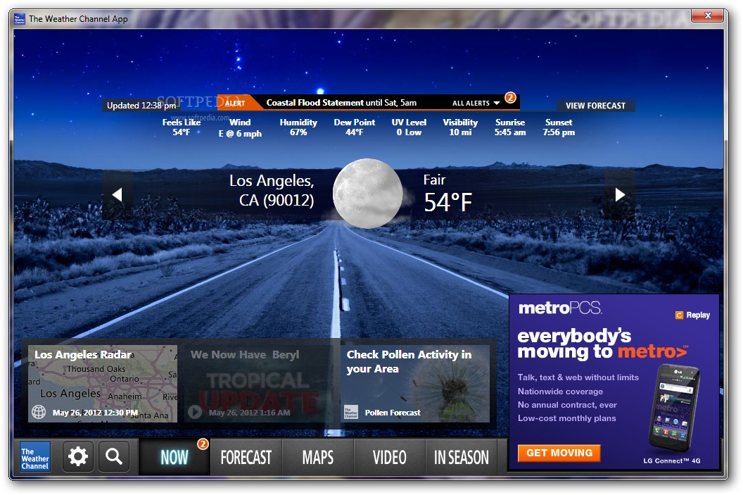 weather channel apps download