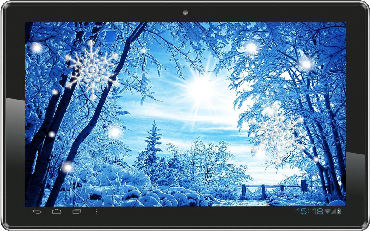 Winter Snowfall live wallpaper   Android Apps on Google Play 1280x800