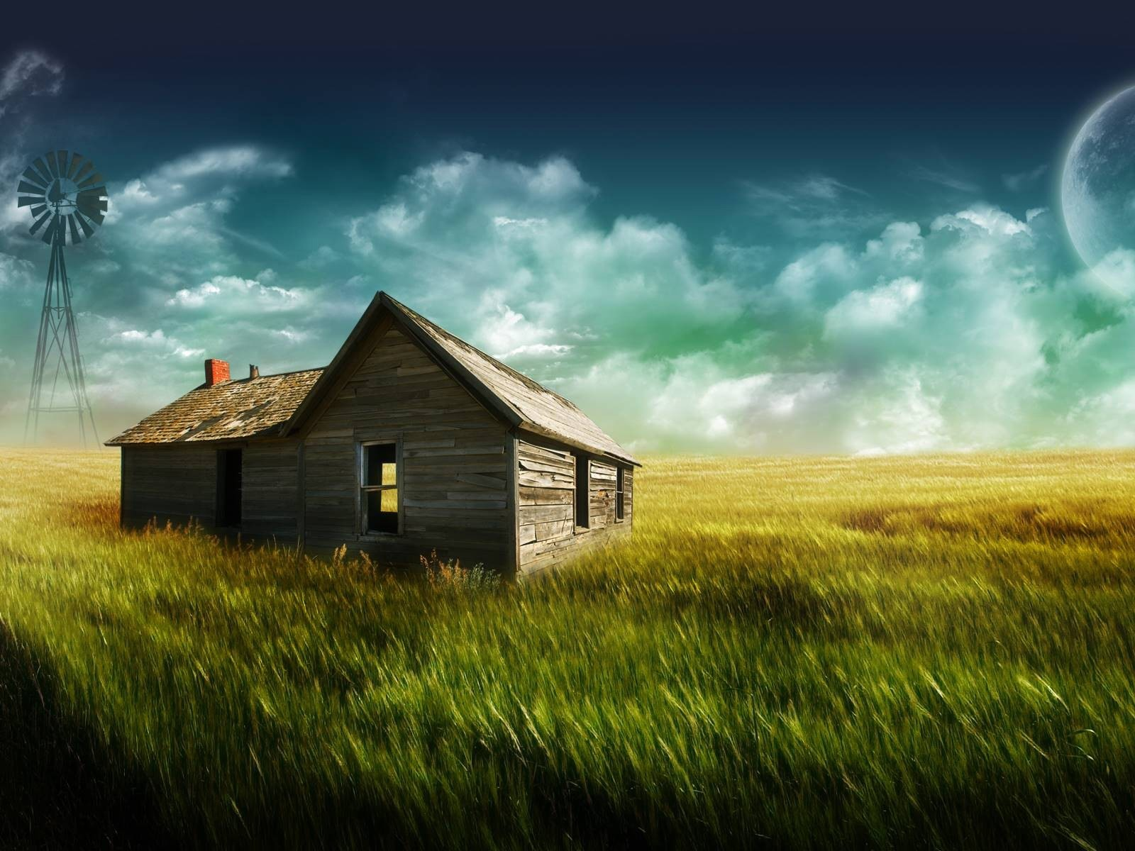The Farmhouse desktop wallpaper 1600x1200