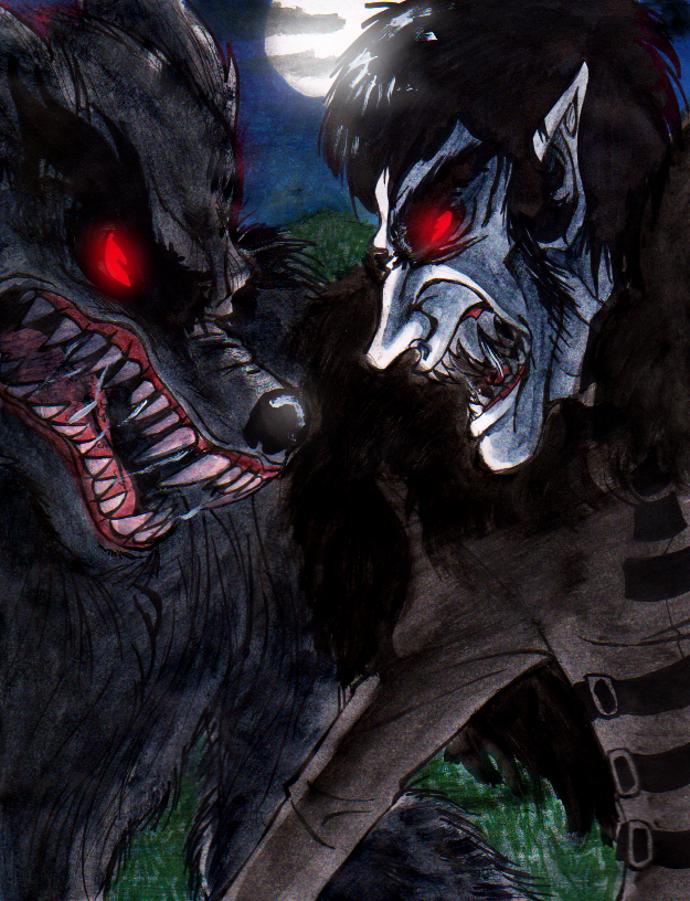Werwolf Vs Vampir