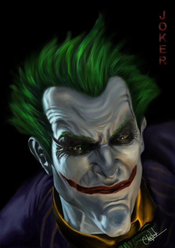 Joker   Arkham Asylum by whiteheaveneleven 600x853