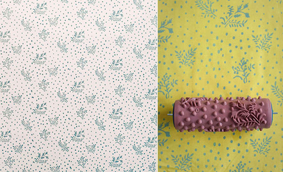 Free Patterned Paint Rollers