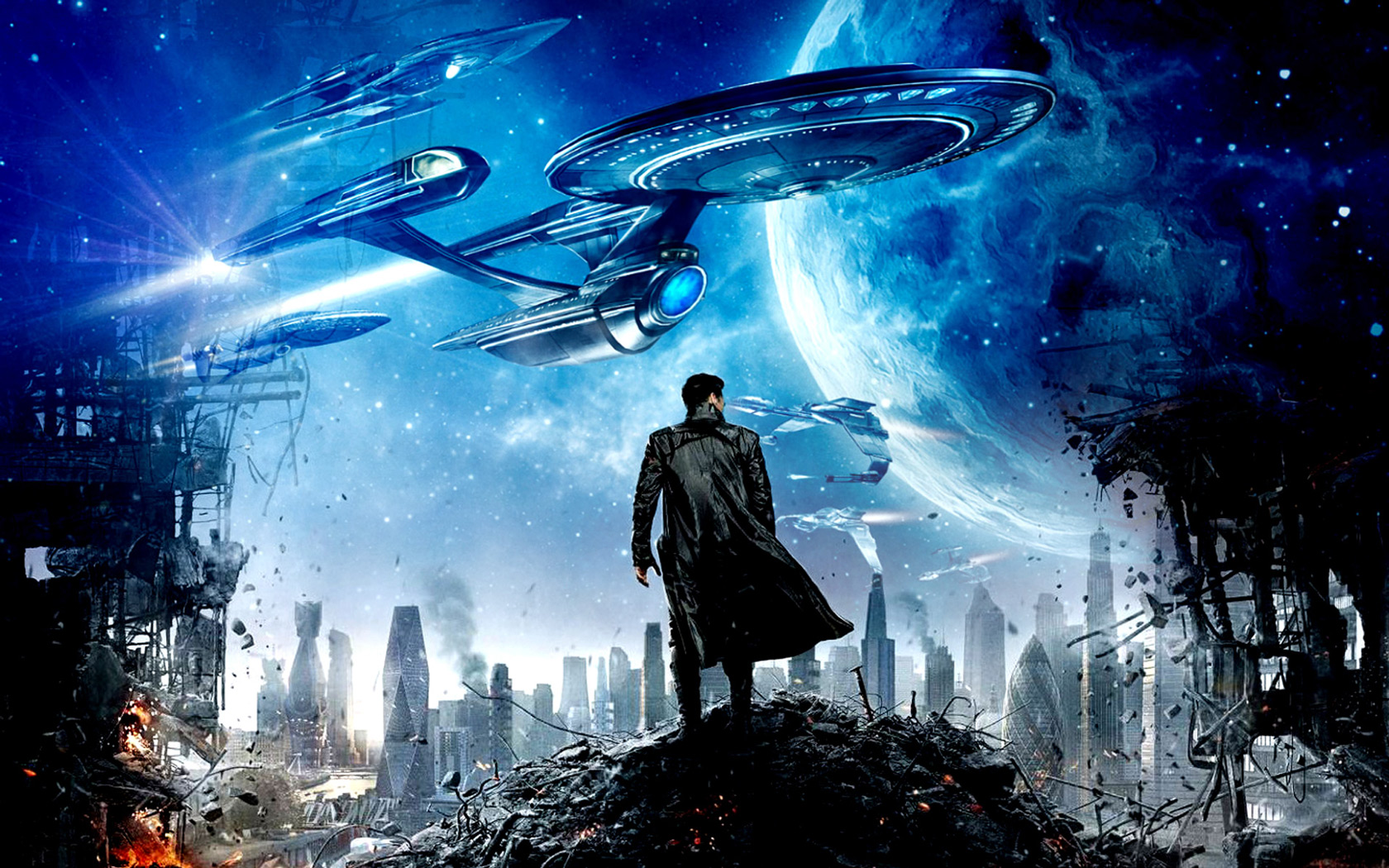 We watched Star Trek Into the Darkness this afternoon May 9th 2013 I am not going to reveal specific details because this film is so new that I am