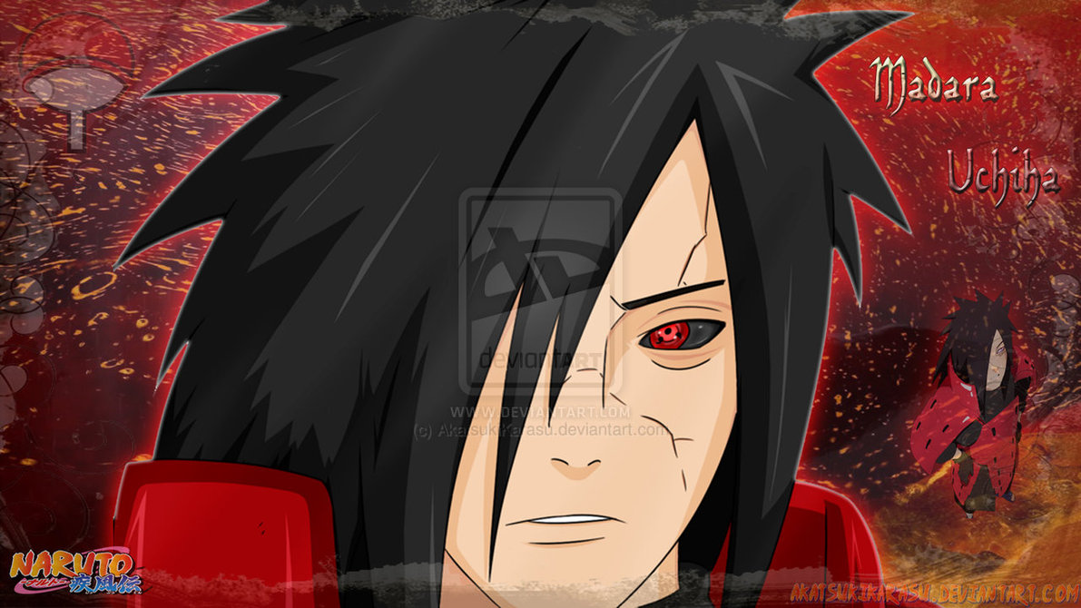 Madara Uchiha Wallpaper 1366x768 by AkatsukiKarasu 1191x670
