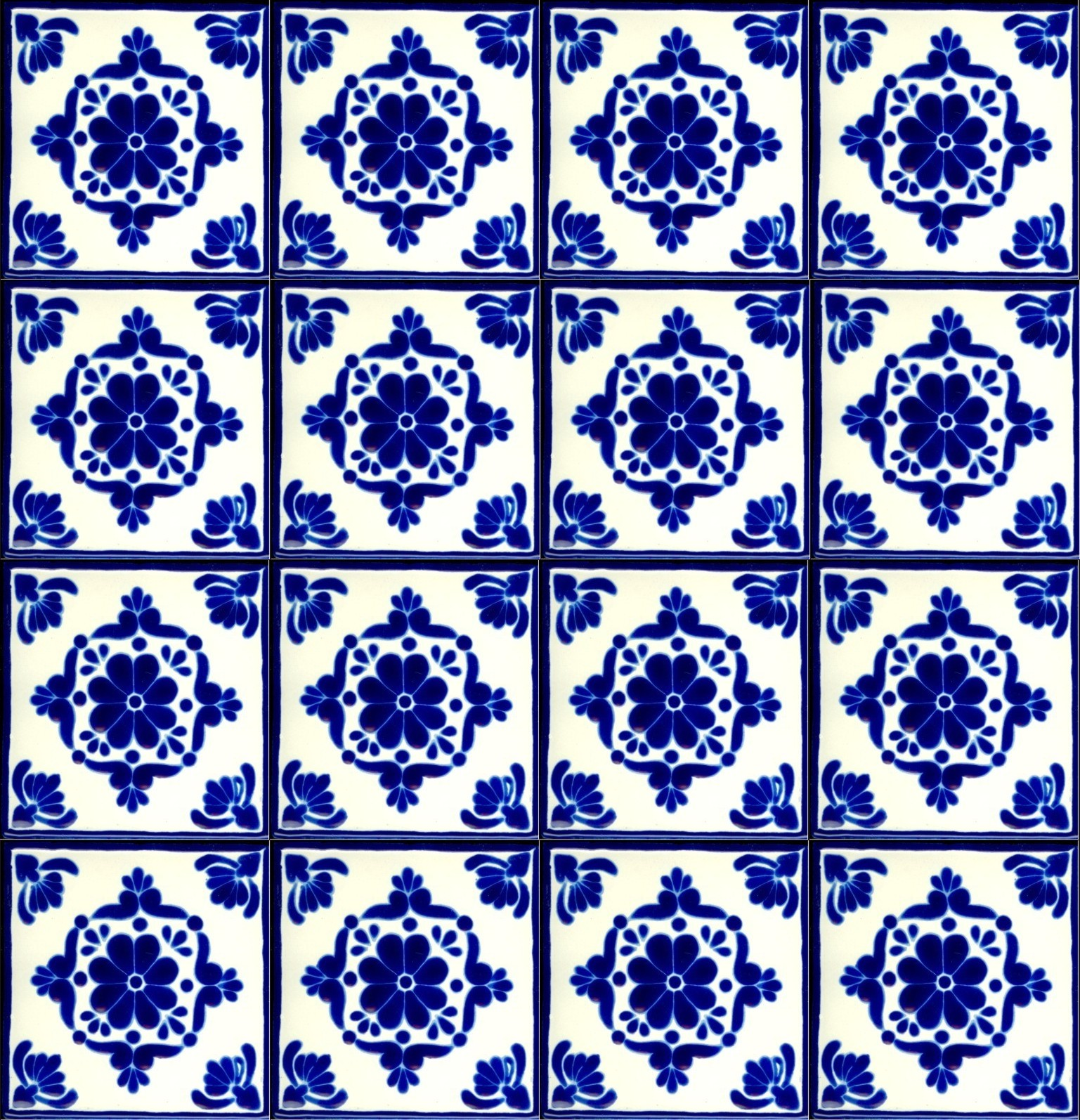 Mexican Tile Wallpaper Wallpapersafari
