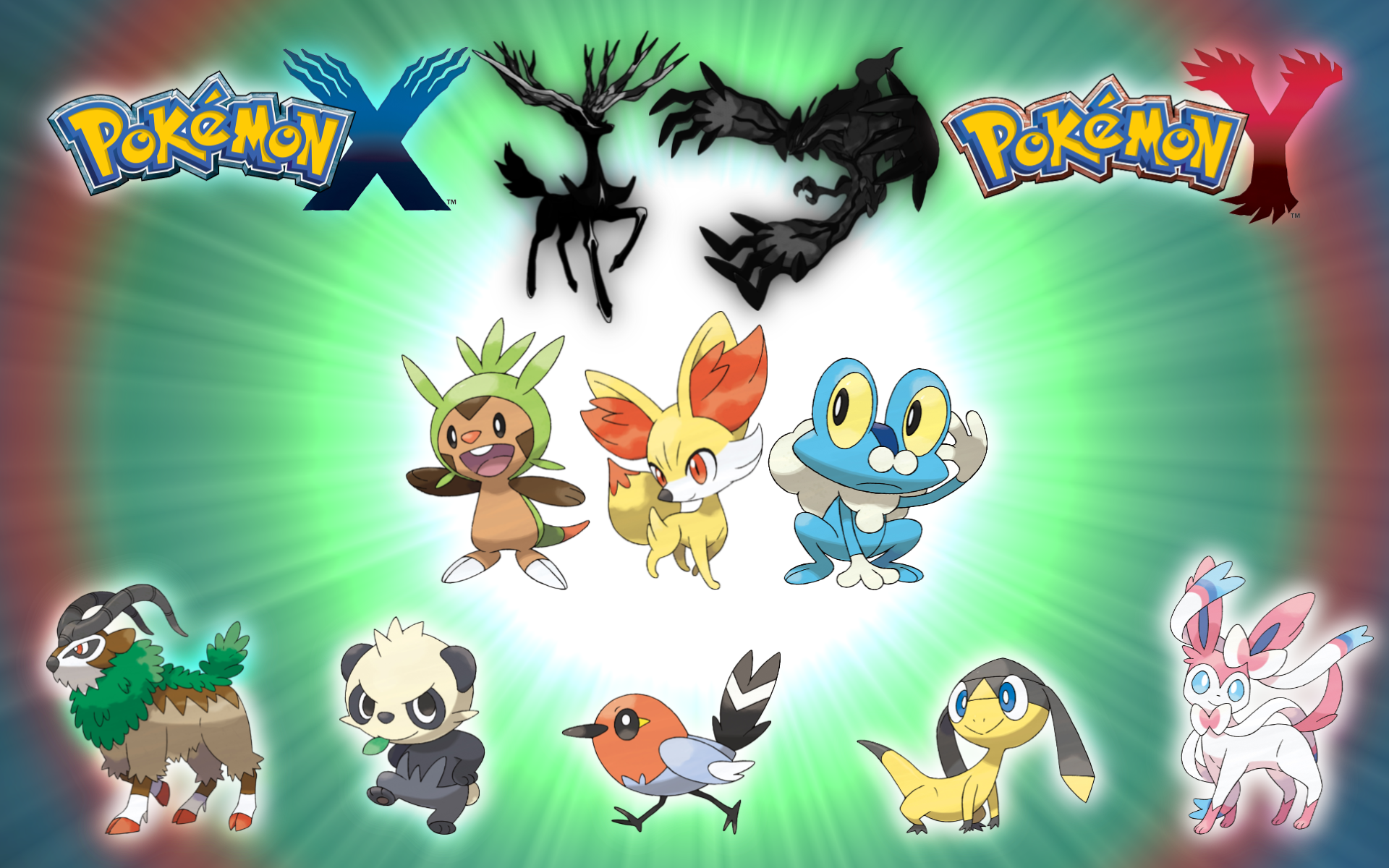 Free Download Pokemon X And Y Wallpaper Widescreen 1920x1200 For