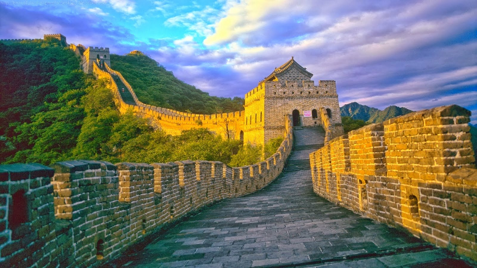 Beautiful Wallpapers China Wall Wallpaper HD 1600x900