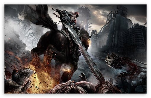 Darksiders Horsemen HD wallpaper for Standard 43 54 Fullscreen UXGA 510x330