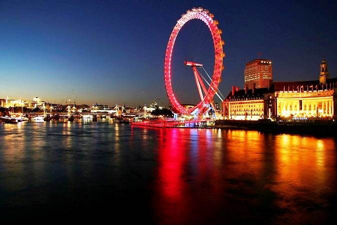 London Eye Millennium Wheel HD Wallpapers Backgrounds 674x450