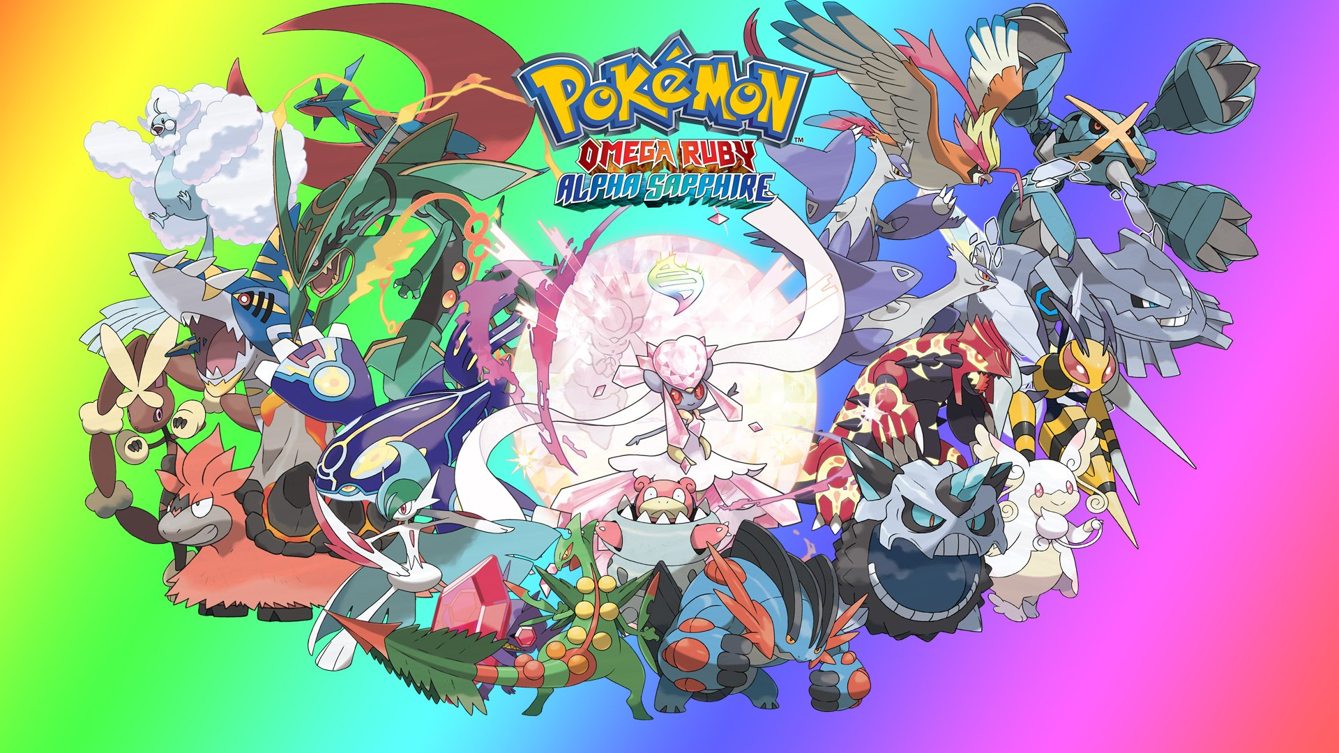 [48+] Pokemon Mega Evolution Wallpaper on WallpaperSafari