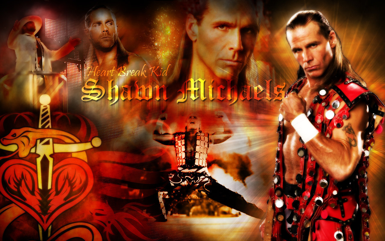 WWE Superstar Shawn Michaels HD wallpapers 1280x800