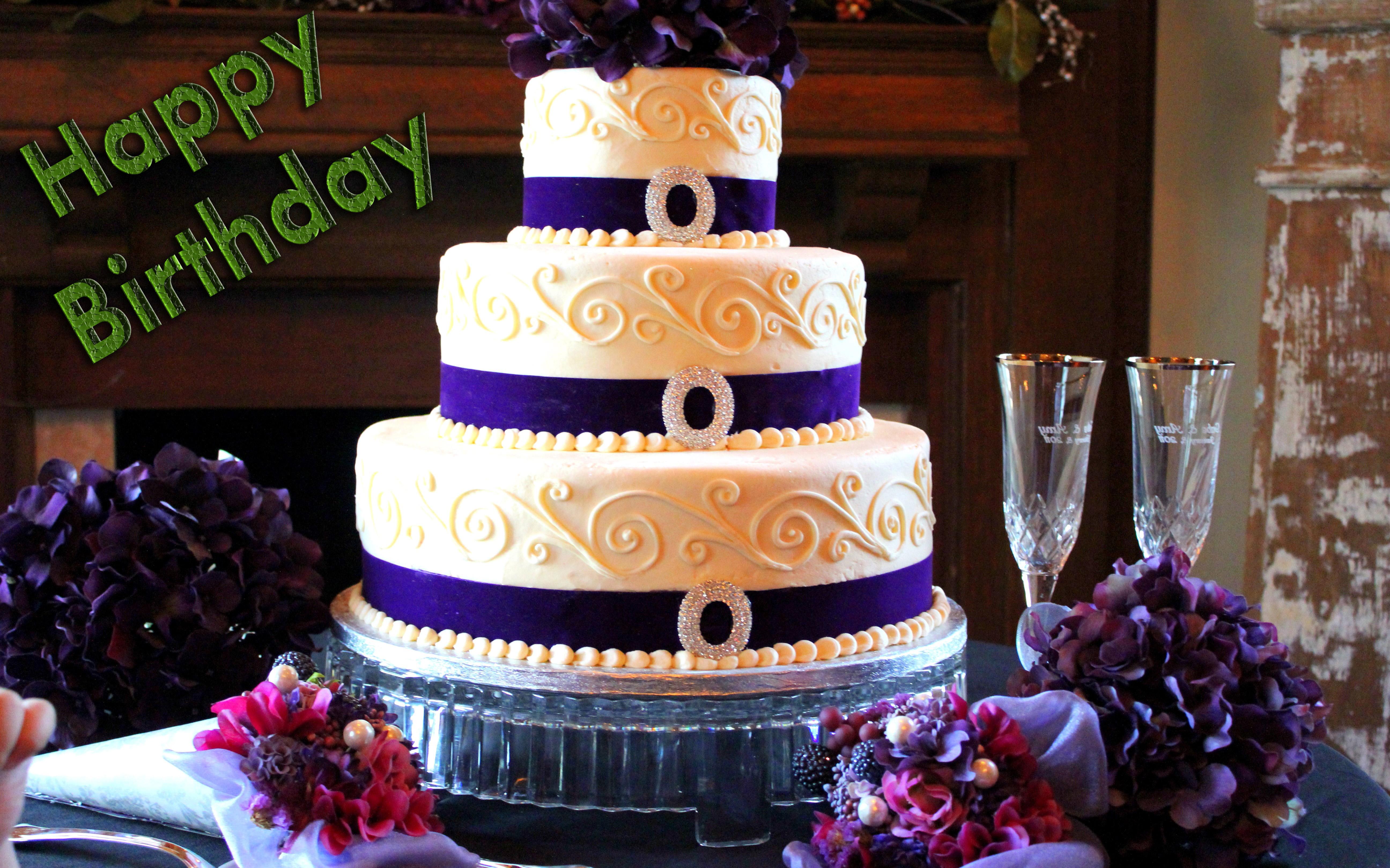 Big Cake Happy Birthday HD Wallpaper Wish 5184x3240