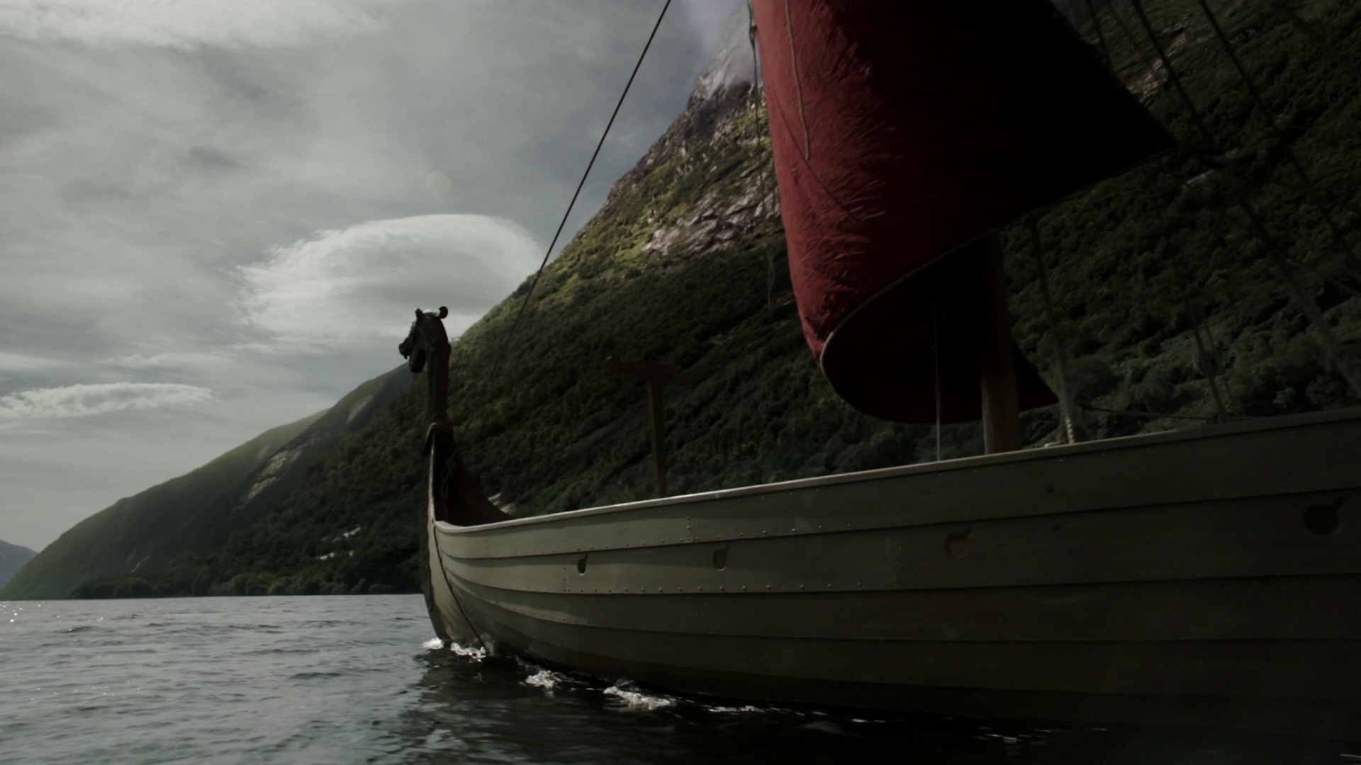 Viking Ship Wallpaper