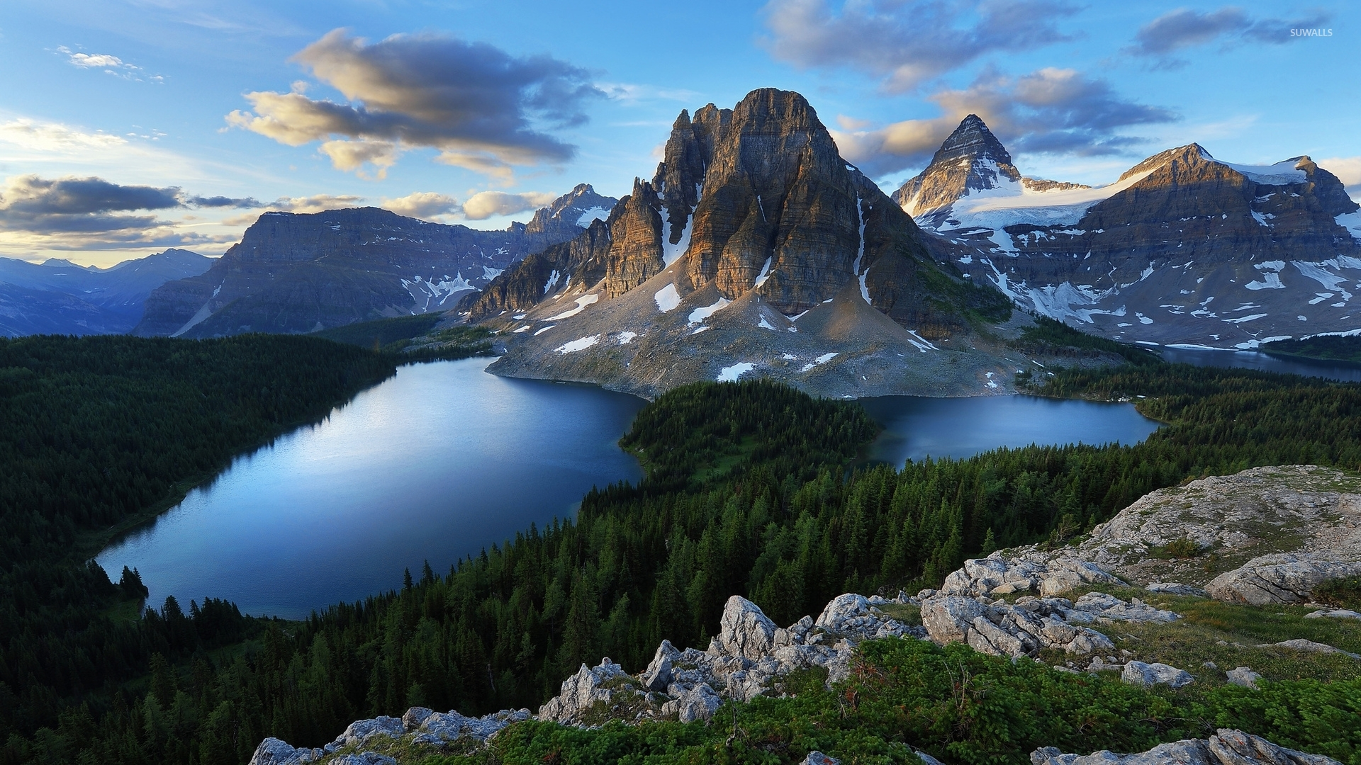 Mount Assiniboine Wallpapers and Background Images   stmednet 1920x1080