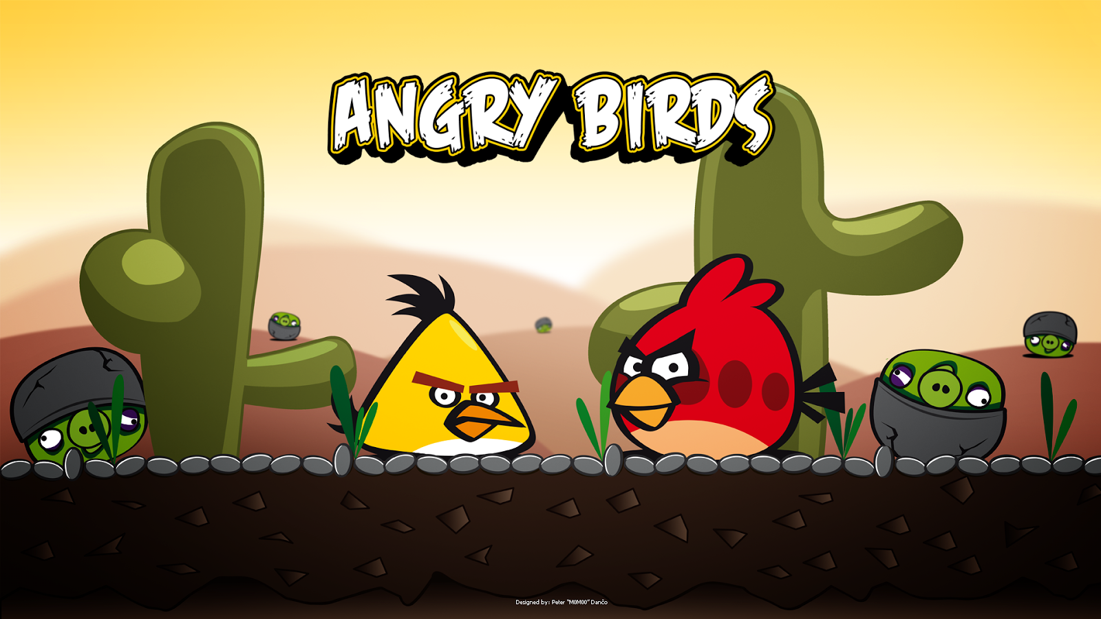 Angry Birds HD Wallpaper 2013 1600x900