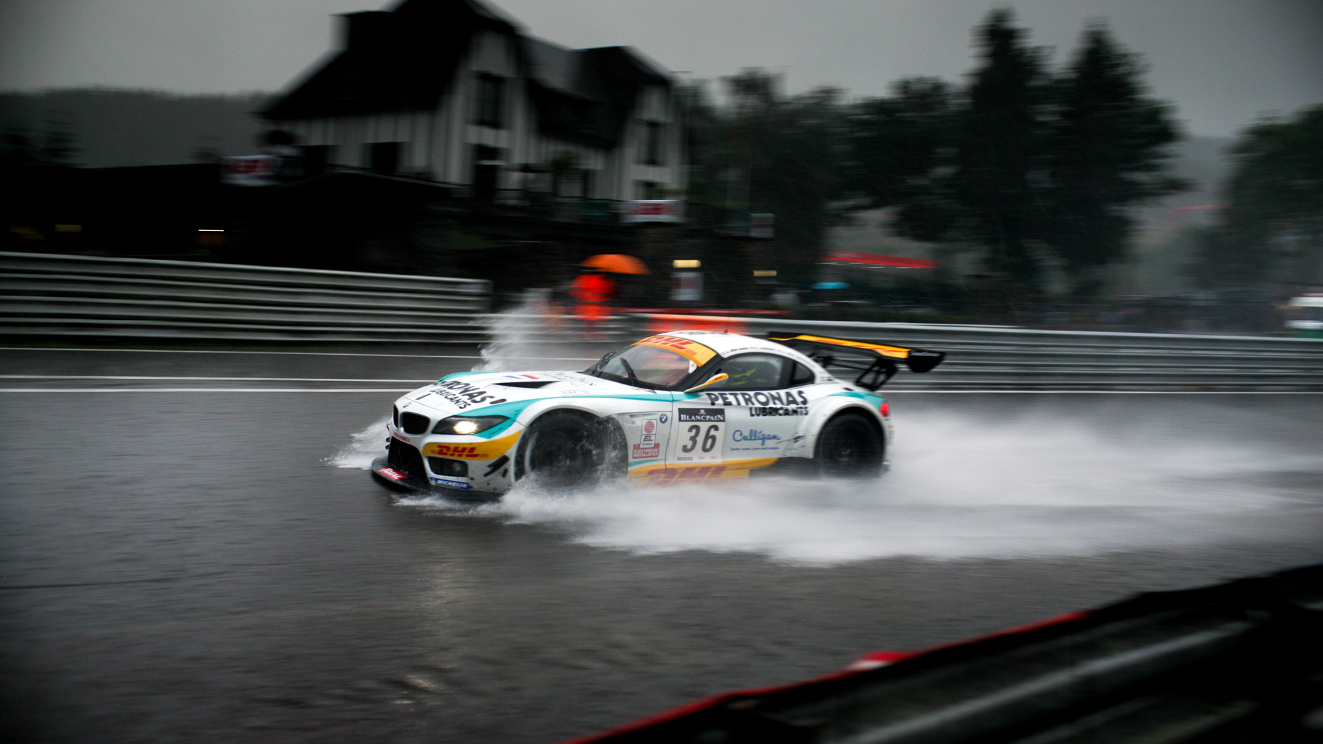 BMW Rain Race Wallpaper HD Car Wallpapers 1920x1080