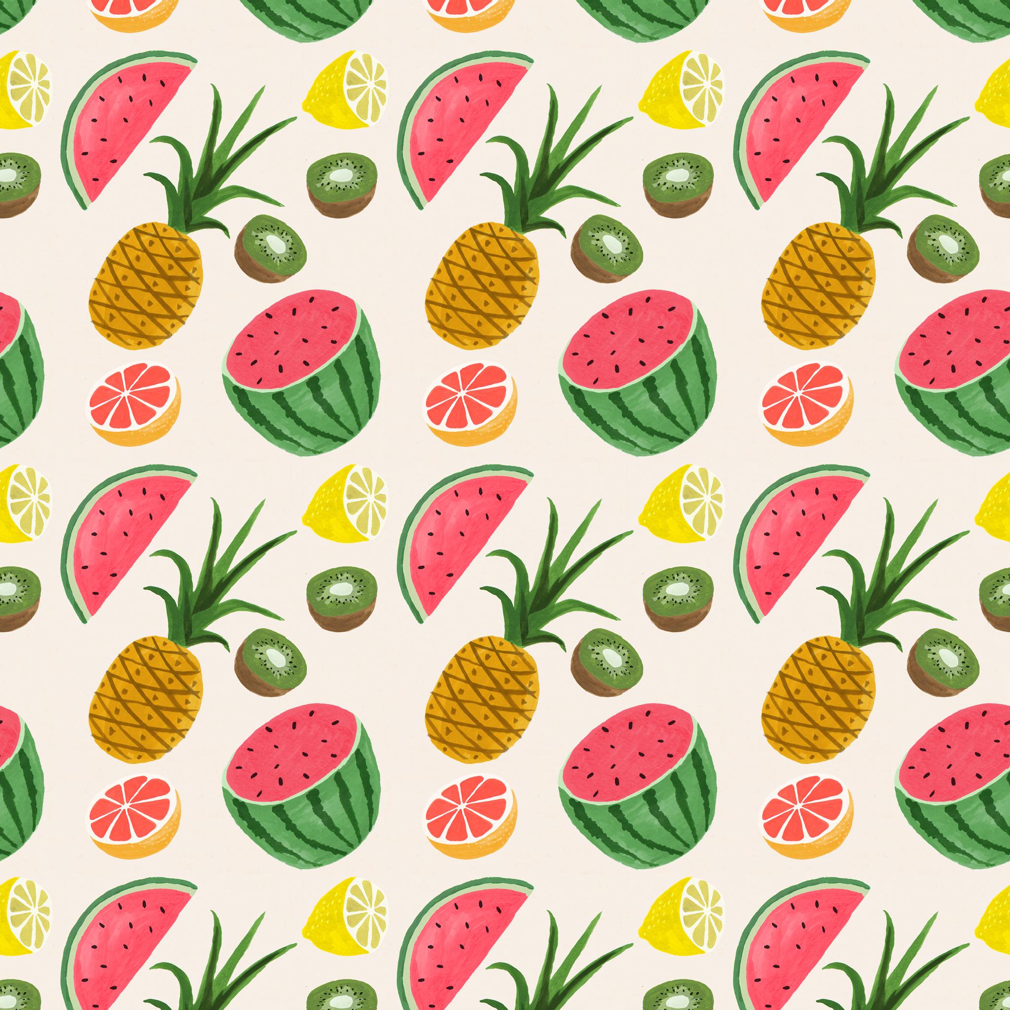 Tropical Print Wallpaper 2048x2048