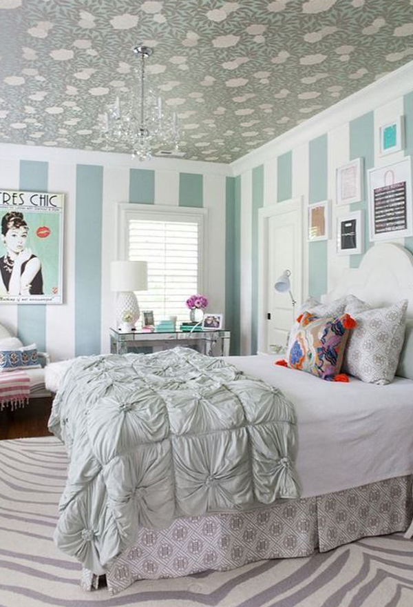 Free Download 20 Pretty And Stylish Teenage Girl Bedroom Ideas [600x880] For Your Desktop, Mobile & Tablet | Explore 47+ Teen Wallpaper For Bedrooms | Wallpaper For Teen Girls, Wallpaper For Teen