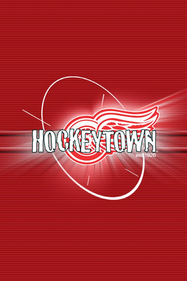 Download Detroit Red Wings iphone Android wallpaper 640x960