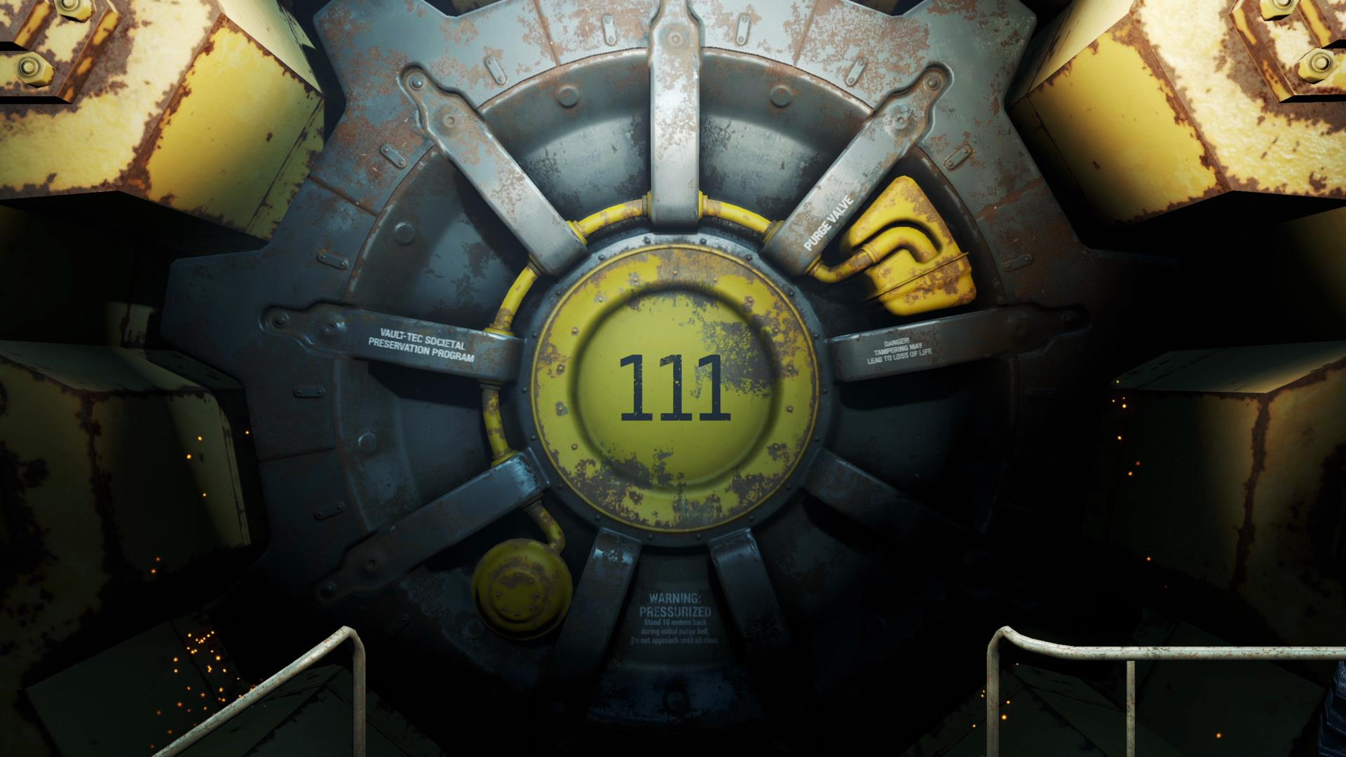 Fallout 4s story is officially in lock down Like inside a vault in 1920x1080