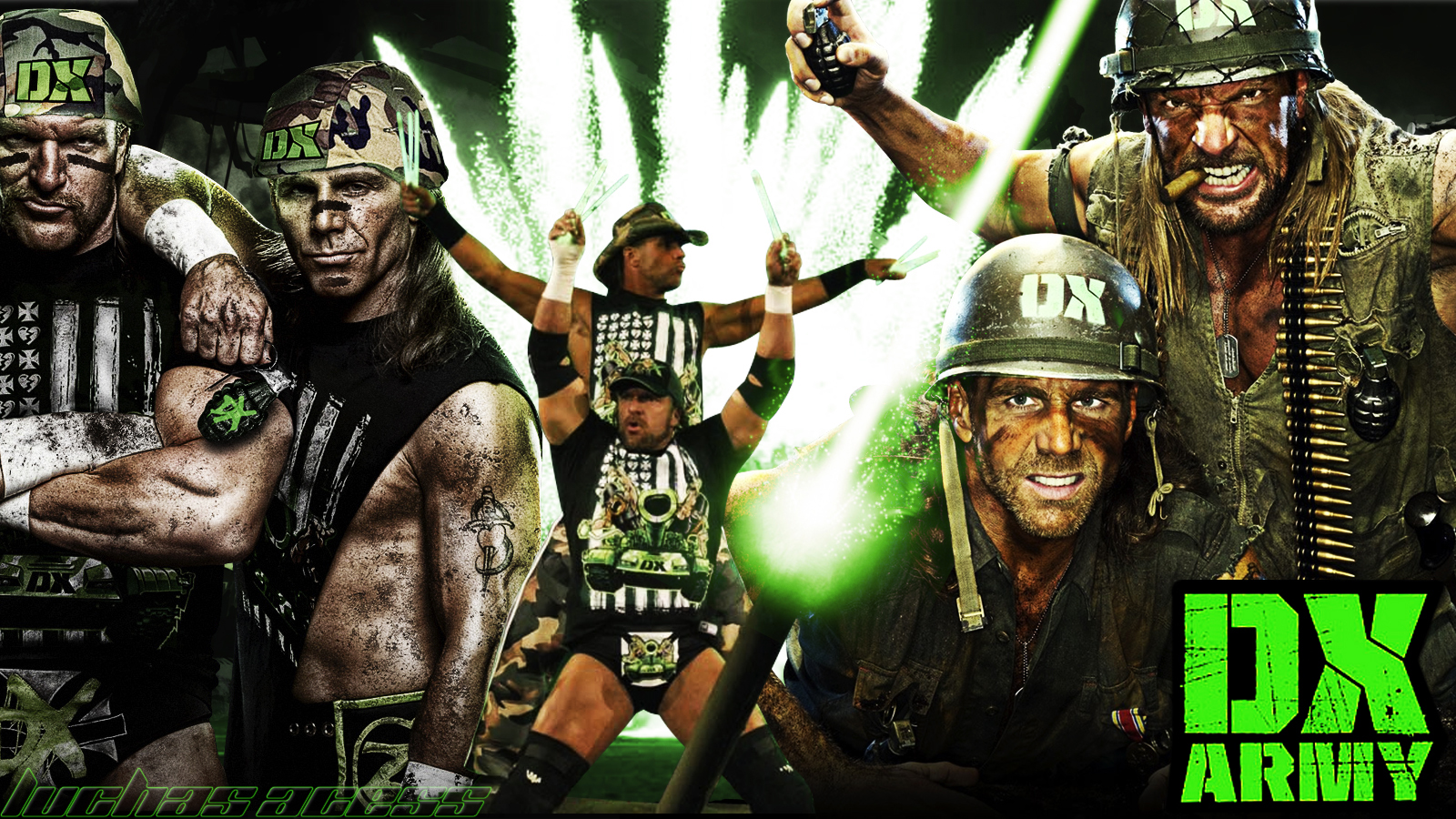 shawn michaels luchas acess 1600x900