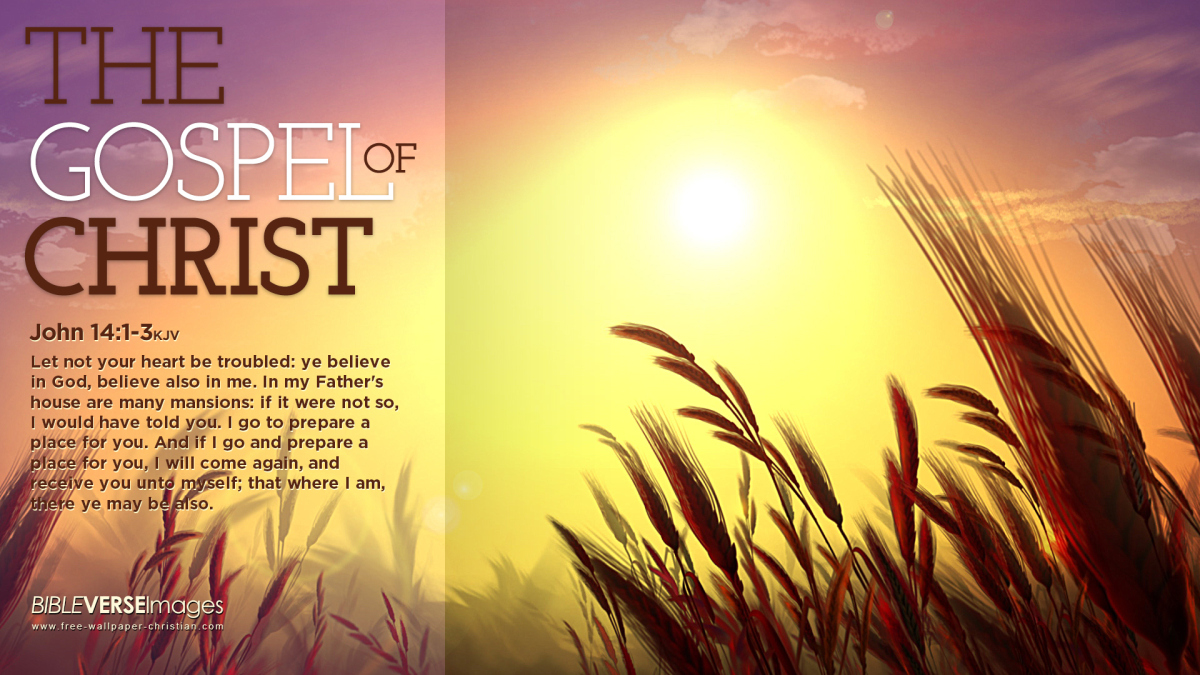 The Gospel of Christ Wallpaper   Christian Wallpapers and Backgrounds 1200x675