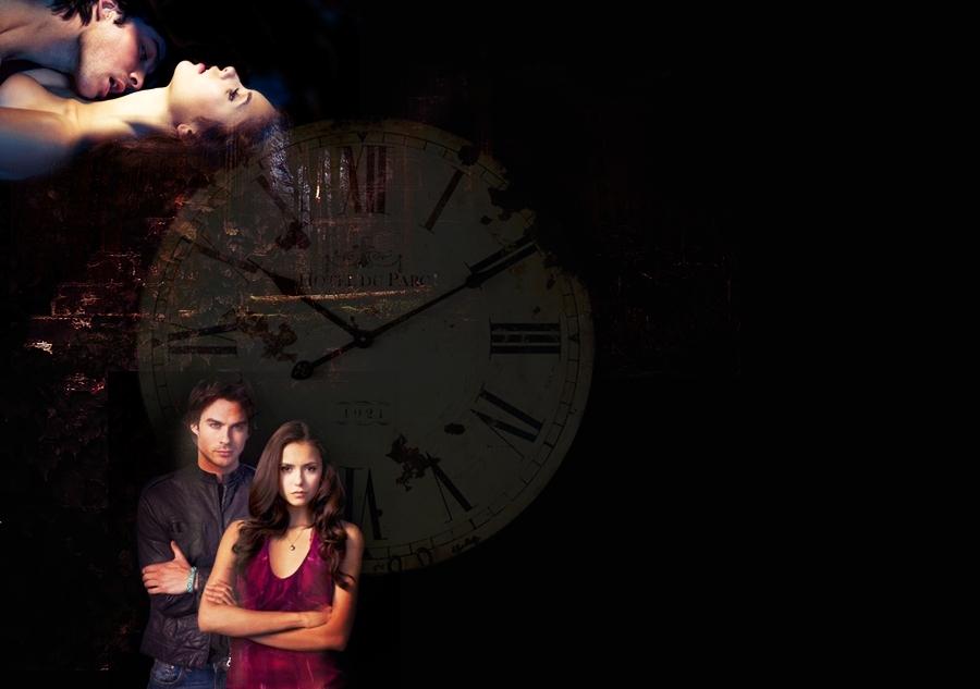 Damon and Elena Wallpaper   The Vampire Diaries TV Show Photo 900x633
