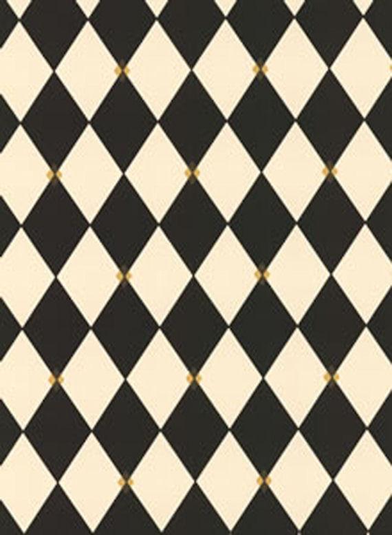 york black harlequin wallpaper 2jpg 570x777