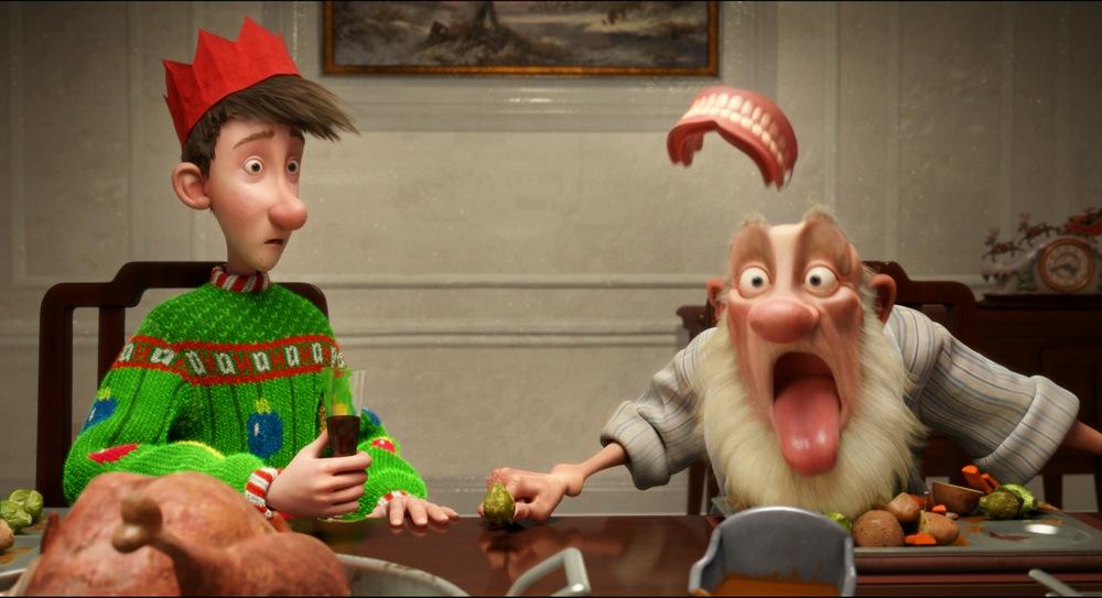 wallcar Arthur Christmas   Movie new Photos 1000x543