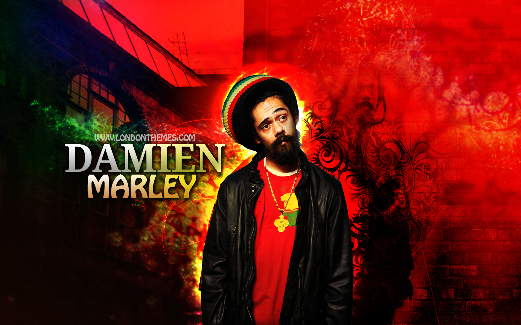 Damien Marley   Count Your Blessings by Lilspeed 1680x1050