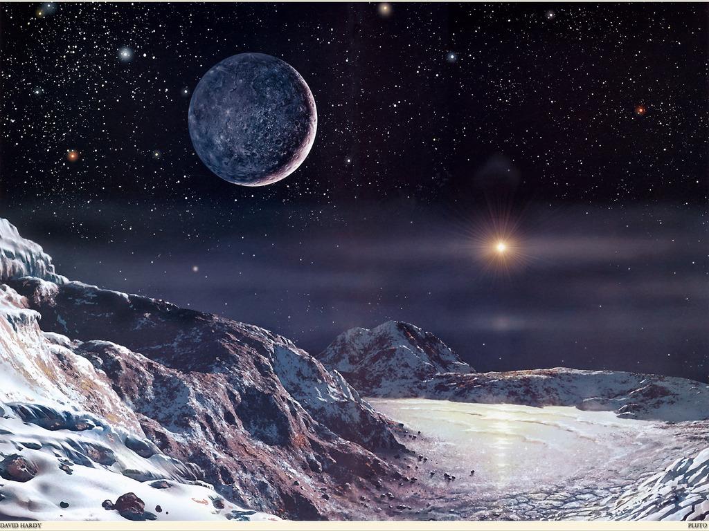 Pluto wallpaper