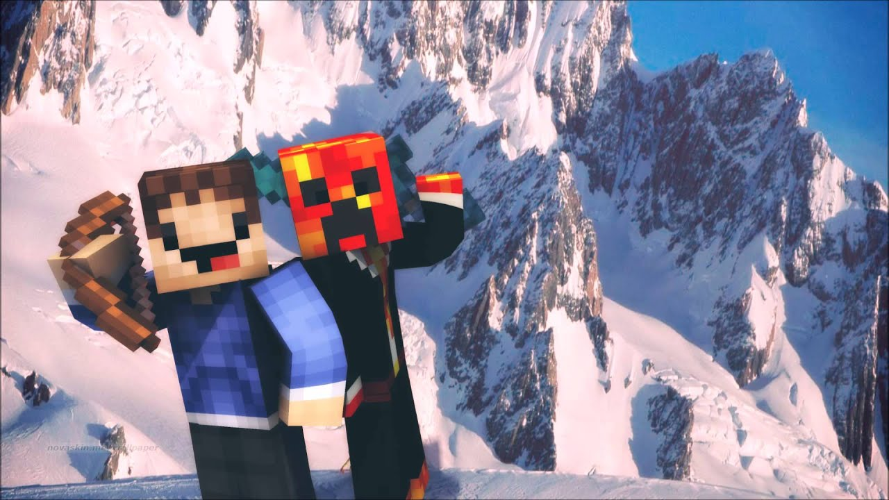 Preston And Woofless Wallpaper Minecraft Wallpaper 1280x720