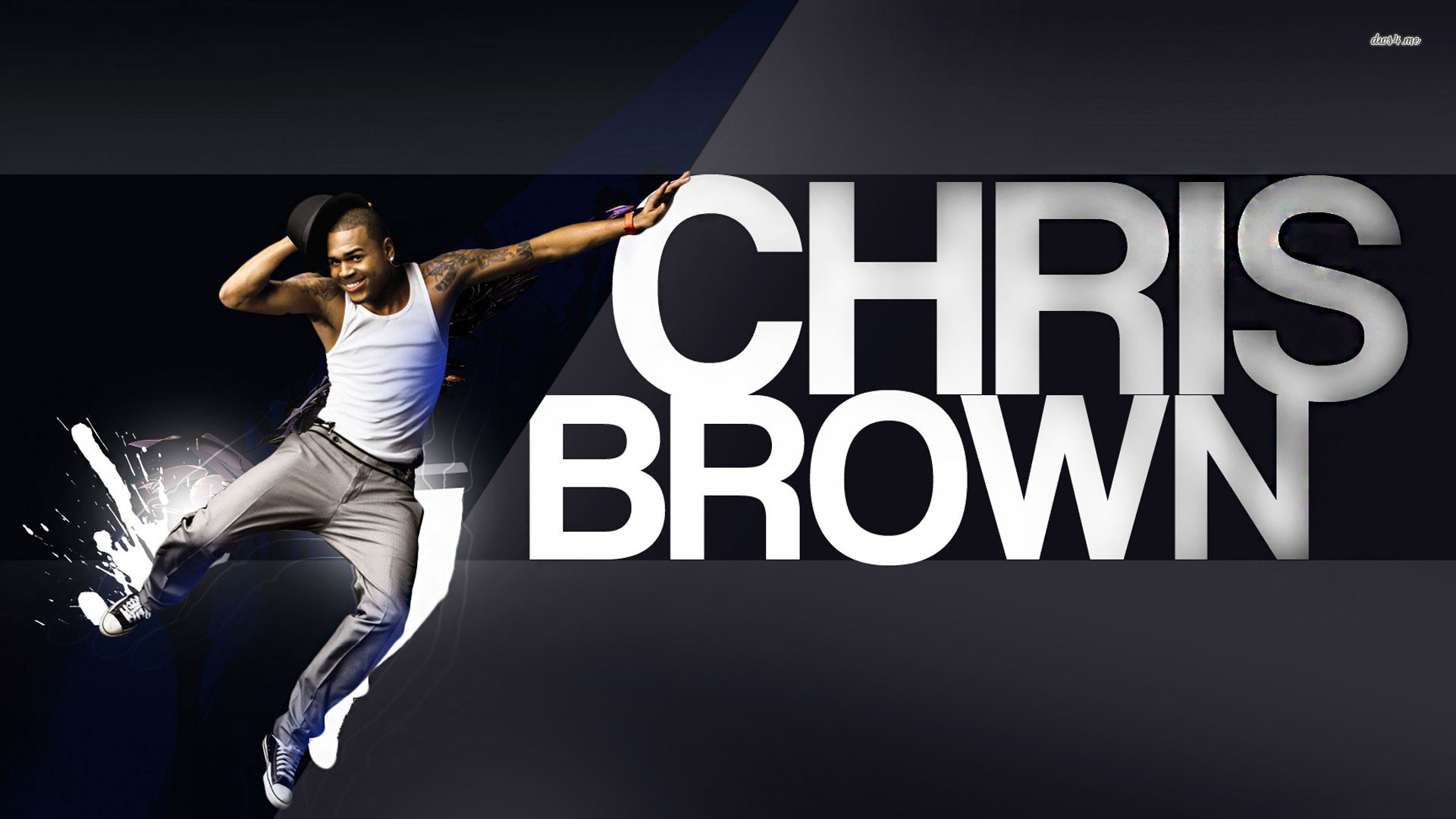 free chris brown wallpaper download