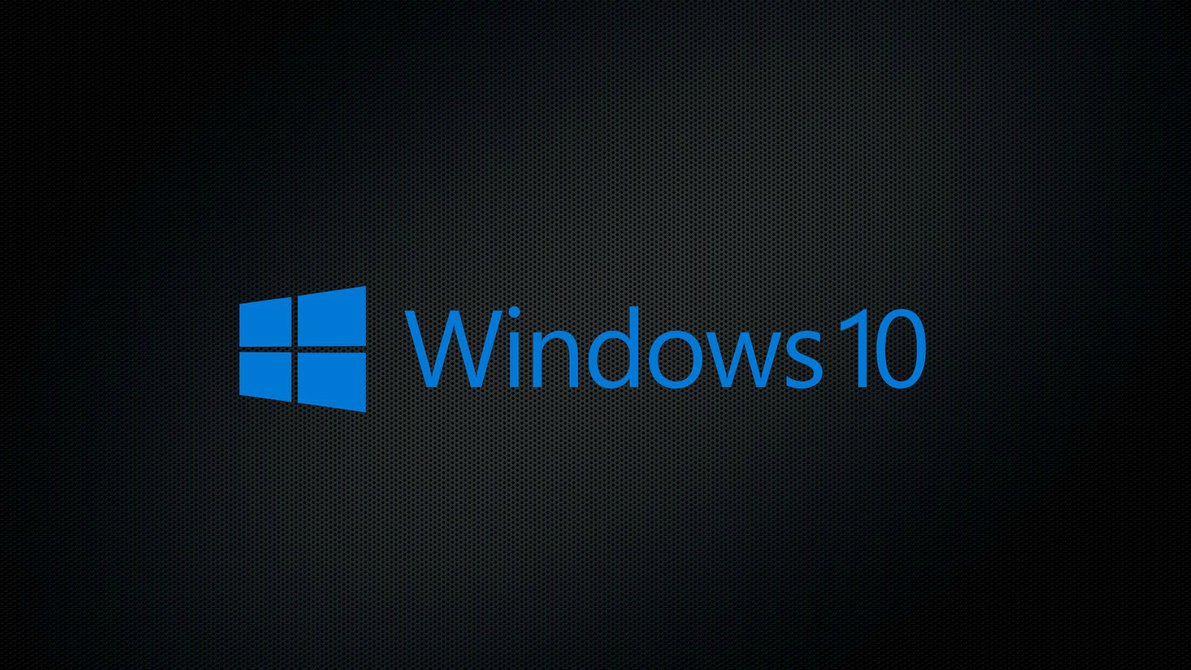 Black Windows 10 Wallpaper Full HD Pictures 1191x670