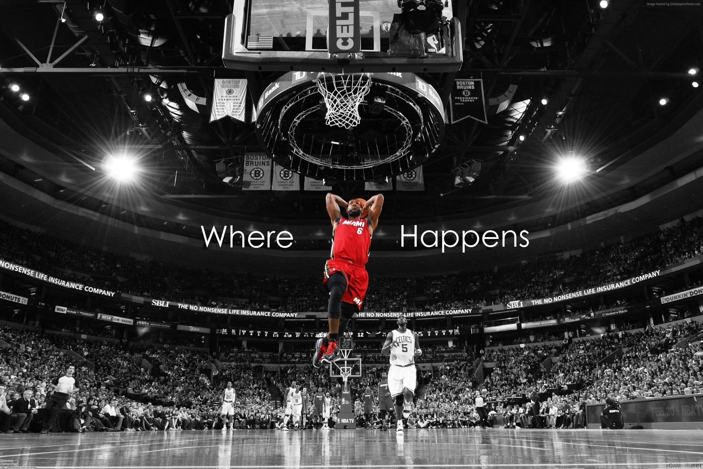basketball wallpaper NBA 4K LeBron James Miami Heat Lebron 3000x2000