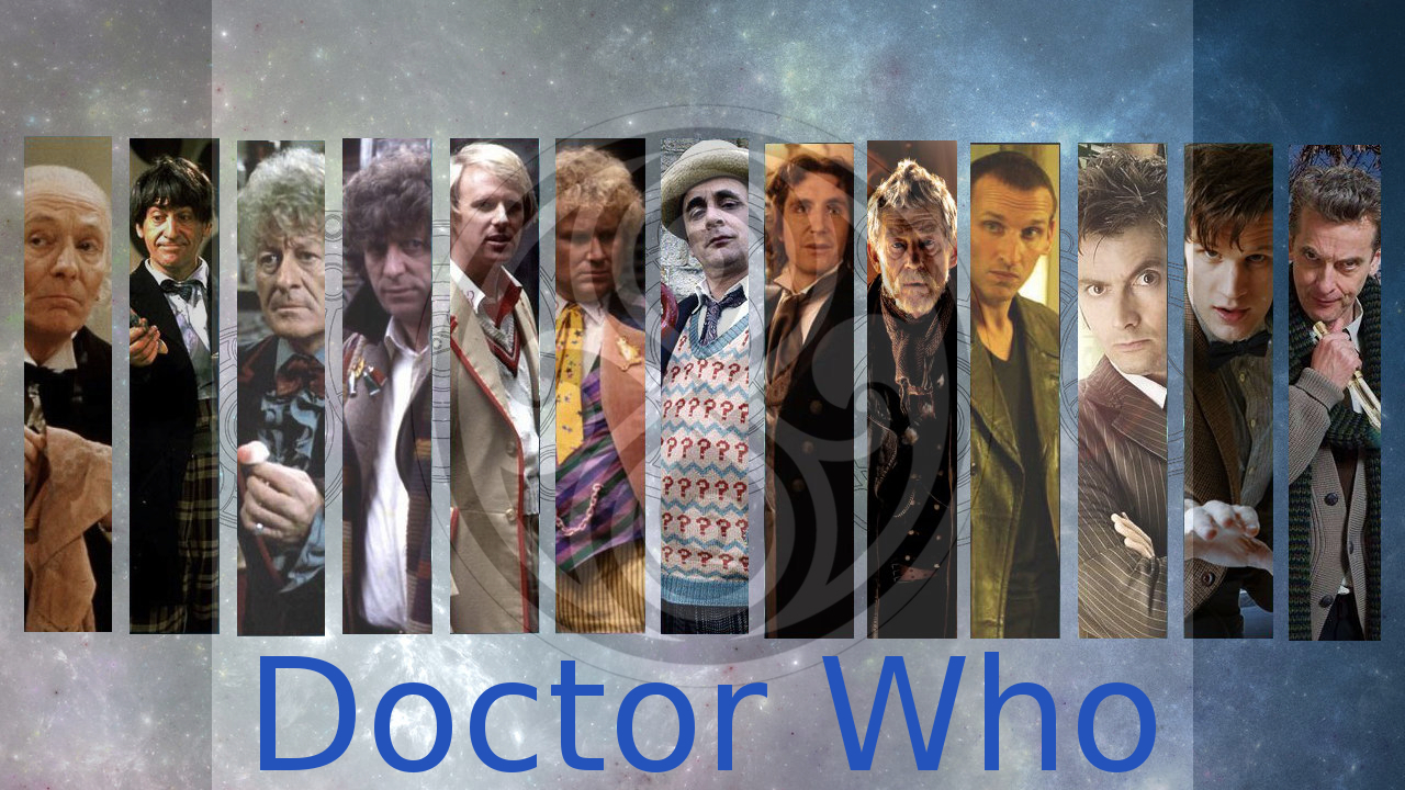 Free Download The Thirteen Doctors Doctor Who By M1sigma 1280x720