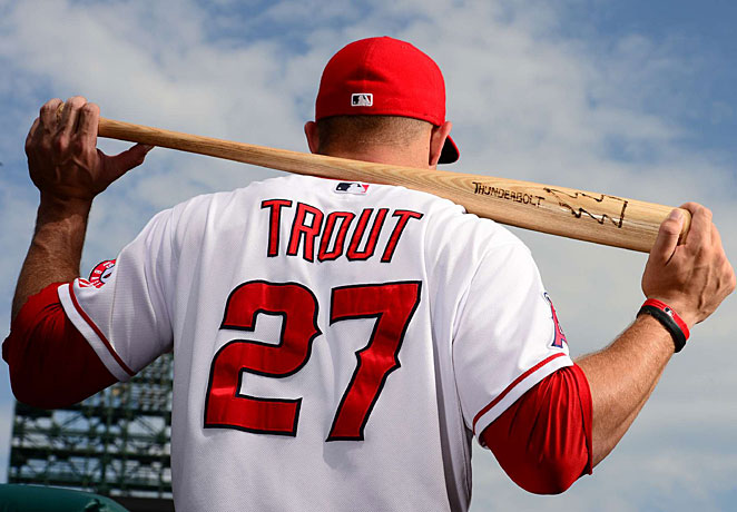 Mike Trout Wallpaper Wallpapersafari