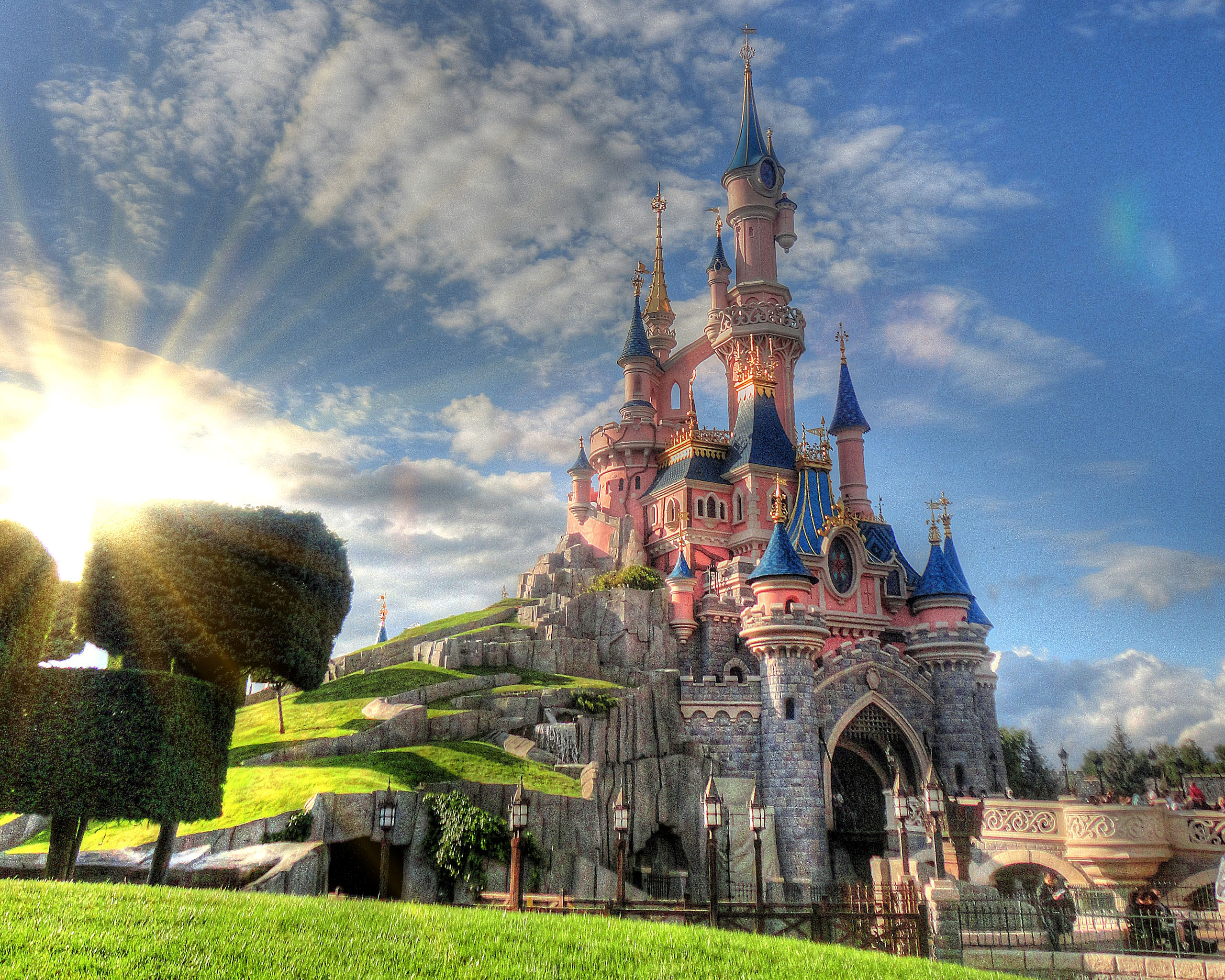 Disneyland paris wallpaper wallpapersafari for Parigi wallpaper