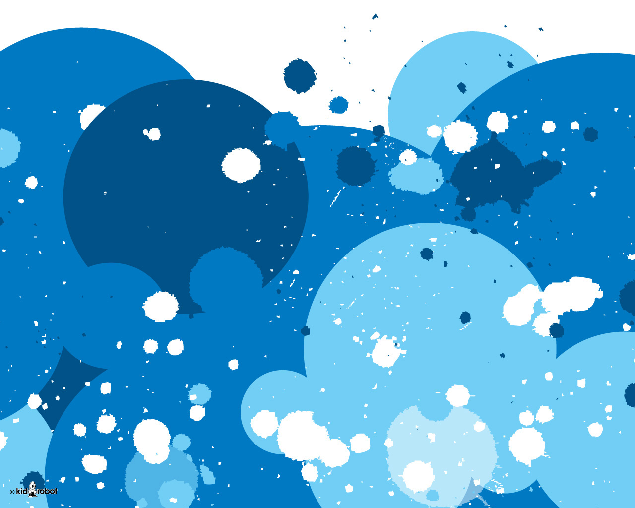 Bubble Blue Wallpapers Kid Robot Bubble Blue Myspace Backgrounds Kid 1280x1024
