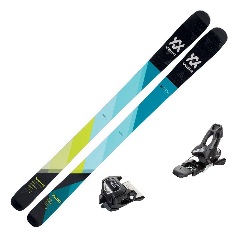 Amazoncom Volkl 2018 Kenja Womens Skis wTyrolia Attack 11 1001x1001