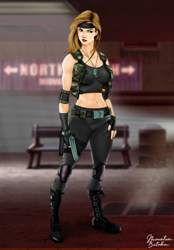 46 Mortal Kombat Sonya Blade Wallpaper On Wallpapersafari