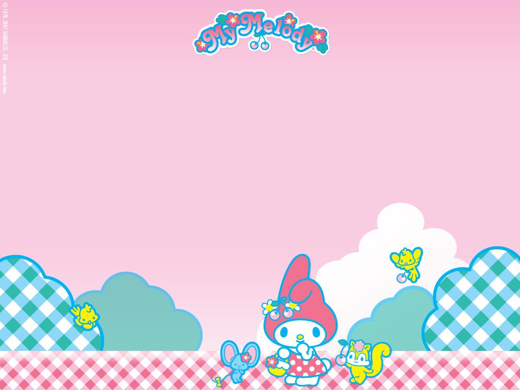 My Melody Wallpaper Kawaii Wallpapers 1024x768