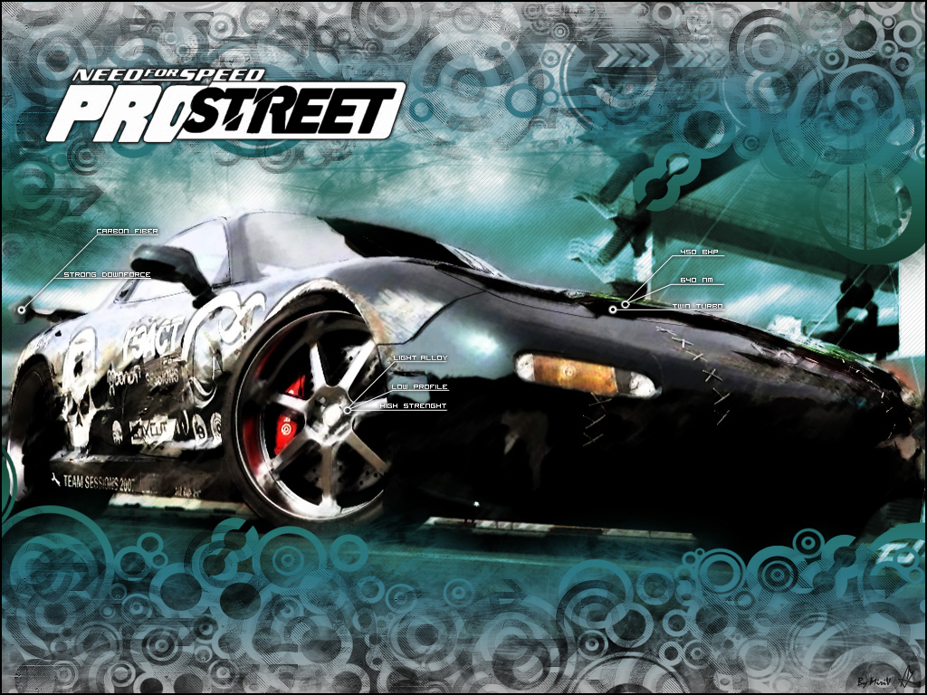 Pro Street Wallpaper HD wallpaper   Need For Speed Pro Street 1024x768