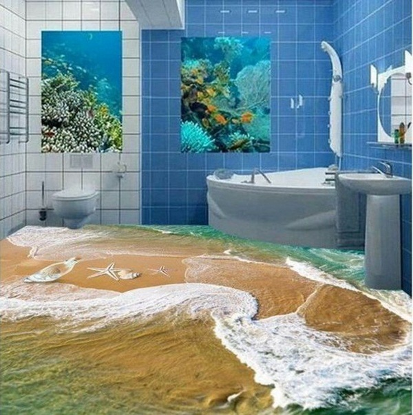 Unique Photo Wallpaper Beach Room Decorating Ideas Home Decorating 600x603
