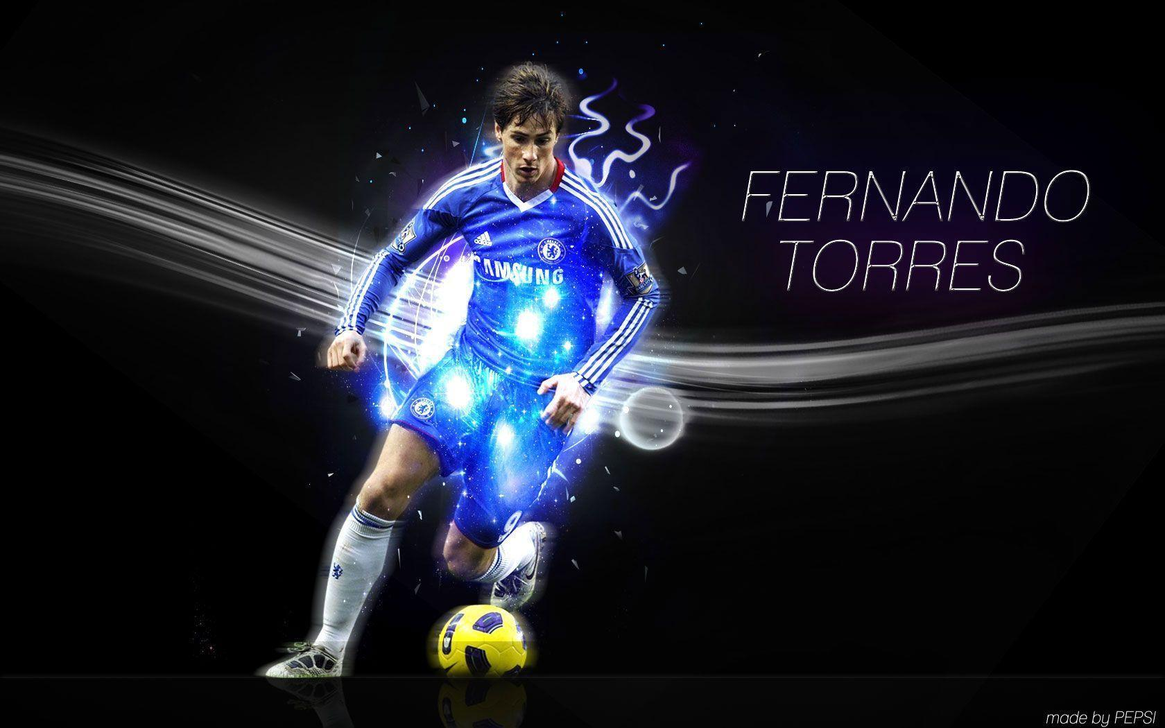 Wallpapers Of Fernando Torres 1680x1050