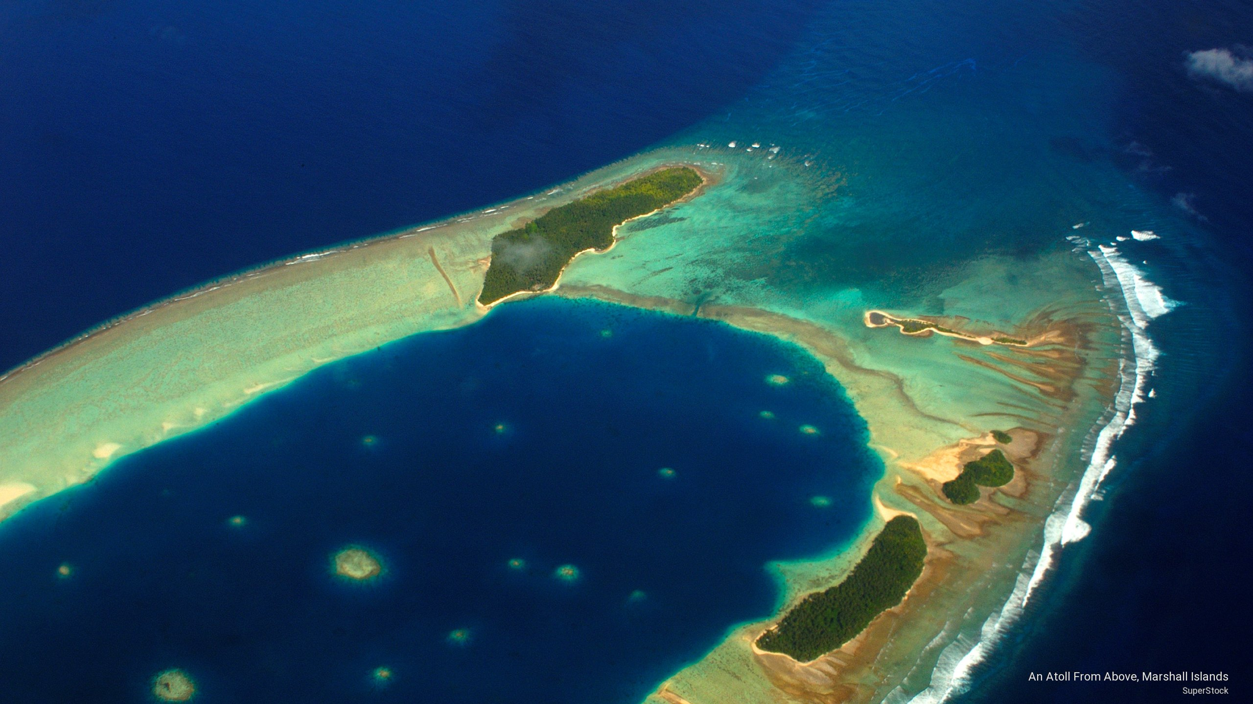 Webshots   An Atoll From Above Marshall Islands 2560x1440