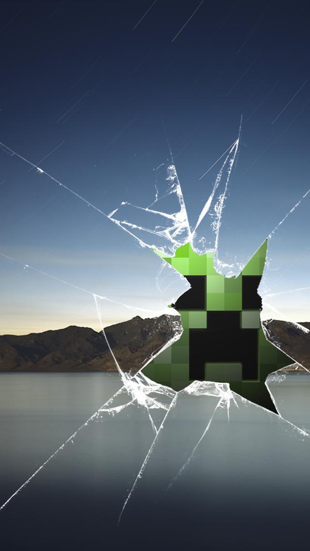 Broken Screen Creeper 640x1136