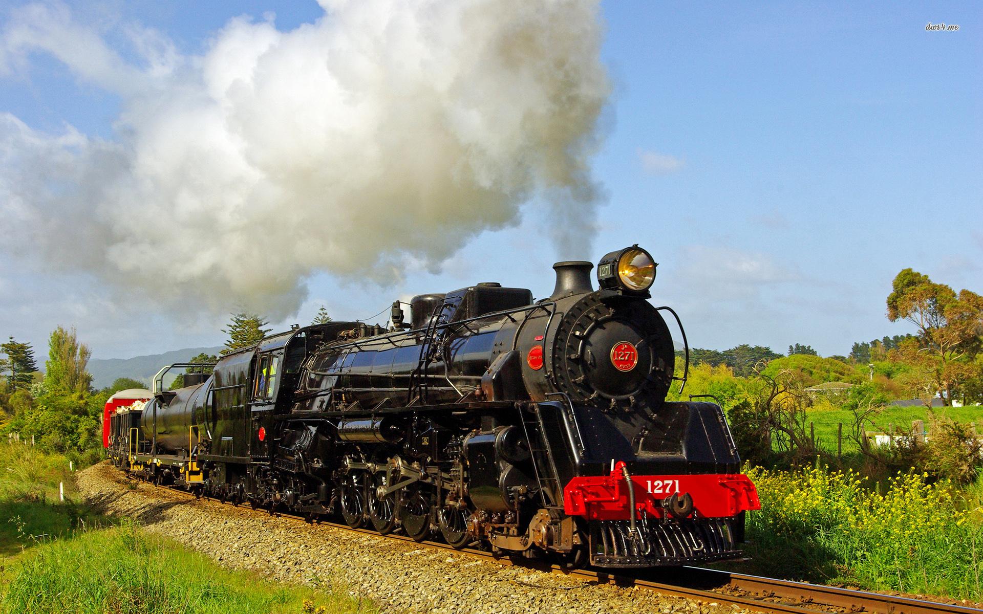 1920x1200 trains steam - photo #12